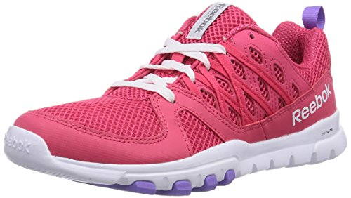 Reebok Sublite Train RS 2.0, Chaussures de Fitness Femmes Rose (Blazing Pink/White/Lush Orchid)