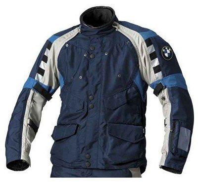 Bmw Genuine Motorcycle Motorrad Rallye Jacket Men S Color Blue Grey Size Eu 114 Us 48l