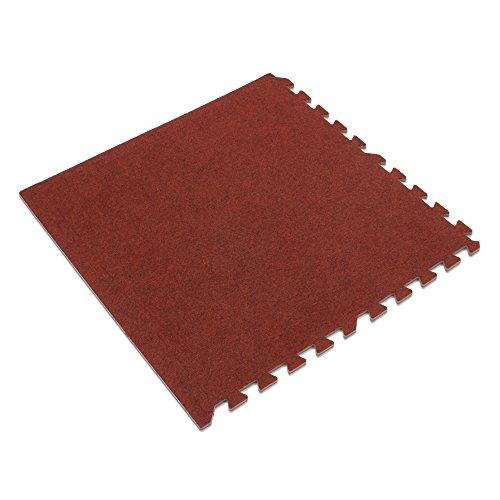 (We Sell Mats Burgundy, 24 sq' 24 Sqft Premium Carpet Tiles,)