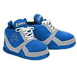NFL Detroit Lions 2015 Sneaker Slipper, Medium, Blue