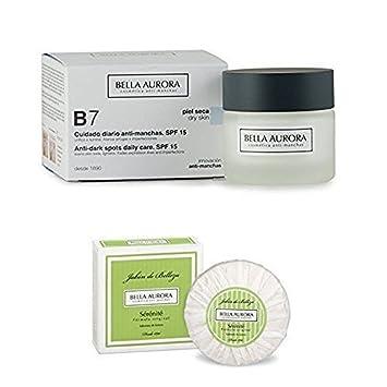 Bella Aurora B7 Anti-dark Spot Cream.Dry Skin. Spf 15 50ml +