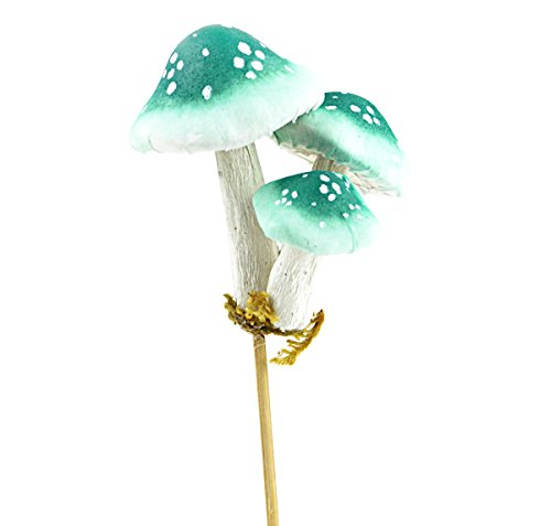 Touch of Nature Foam Mushroom 8.5inch Bermuda Blue