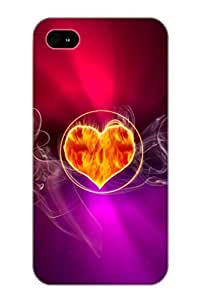 Abstract Misc Case Compatible With Iphone 4/4s/ Hot Protection Case(best Gift Choice For Lovers) by lolosakes