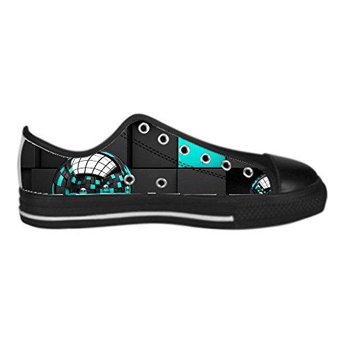 Dalliy Custom 3D Format Mens Canvas Shoes Schuhe Lace-Up High-Top Sneakers Segeltuchschuhe Leinwand-Schuh-Turnschuhe C