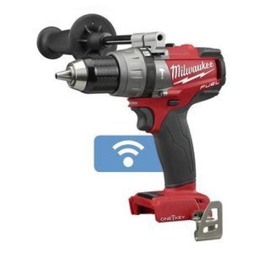 Cordless Hammer Drill, ONE-Key, Bare Tool (Milwaukee M18 Fuel Brushless Hammer Drill 2604 22)