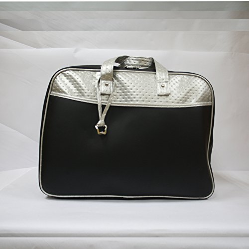 Bolso maleta maternidad Baby Star color Negro/Plata
