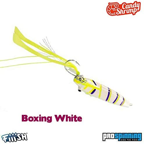 Candy Shrimp Fiiish (45mm 15g - Boxing White): Amazon.es: Deportes ...