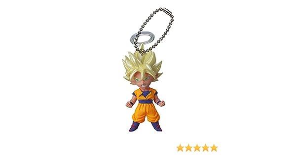 Dragon Ball Z UDM Burst 06 Keychain - Son Goku SSJ