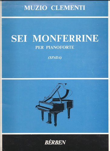 Sei Monferrine (per pianoforte), used for sale  Delivered anywhere in USA
