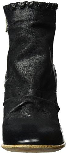 A.S.98 Focus - Botines Mujer Negro (Nero)
