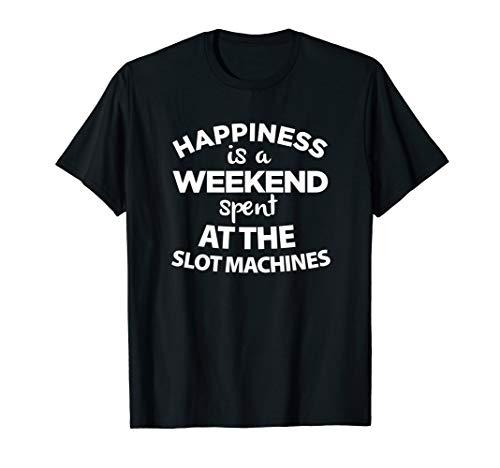 Slot Machines Casino Gambling T Shirt