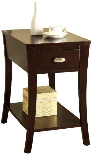 Williams Home Furnishing Side Table, Espresso
