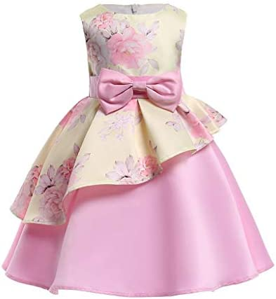 Children Wedding Party Kids Dresses For Girls Flower Girls Baby Girls Clothes Kids Christmas Party Dress 2 10 Year Yellow 9 10 Year Buy Online At Best Price In Uae Amazon Ae