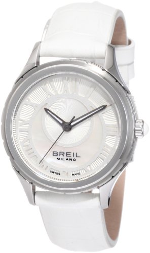 Breil Milano Women's BW0580 939 Custom Round Crescent Moon Dial Watch
