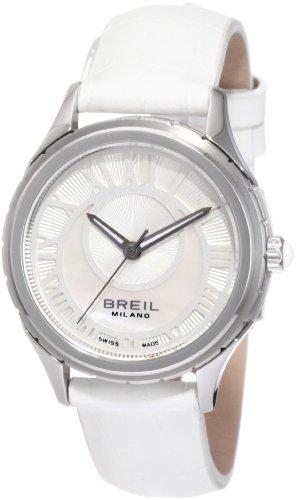 Breil Milano Women's BW0580 939 Custom Round Crescent Moon Dial Watch