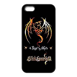 iPhone 5,5S Phone Case Black Blind Guardian ZFC903747