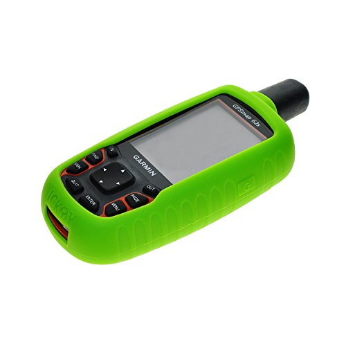 New Green Skin Protect Silicone Rubber Case for GPS Garmin GPSMAP 62 63 64 62S 63S 64S 62ST 63ST 64ST