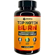 Natural Thermogenic Fat Burning Weight Loss Pills Supplement, Energy Boost & Appetite Suppressant | Boost Metabolism, Burn More Calories, Reduce Cortisol Levels & Promote Lasting Results - 60 Capsules