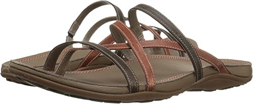 Leather Flip Chaco Flops (Chaco Cordova Sandal - Women's Flamingo, 5.0)