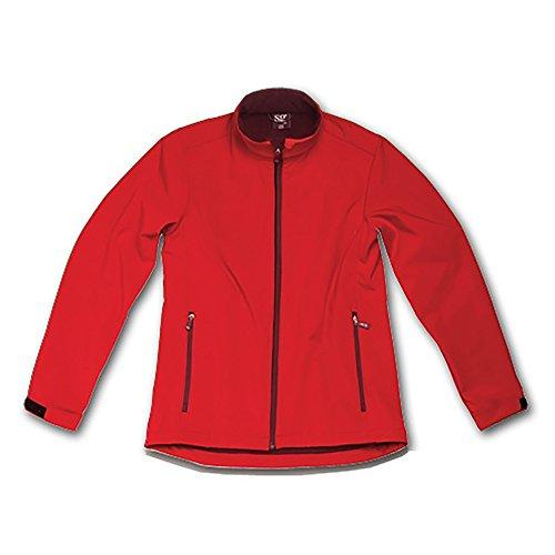- SG Kids/Childrens Unisex 3 Layer Bonded Softshell Wind & Waterproof Jacket (5-6) (Red)