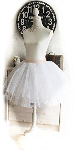 Pyon Pyon kurzer Unterrock Petticoat weiß
