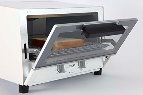 TIGER toaster oven freshly baked white wide KAM-A130W by Tiger (Image #9)