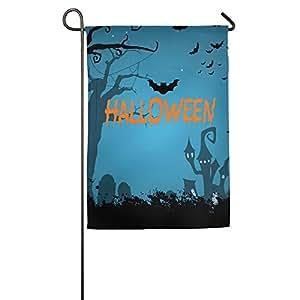 Noche de Halloween casa bandera de banderas, banderas, banderas al aire libre decorativa, Patio, Casa bandera