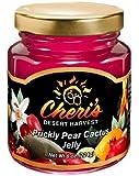 Cheri's Prickly Pear Cactus Jelly - 8 oz - Cacti Jam - Southwest Desert Spread- Southwestern Flavor