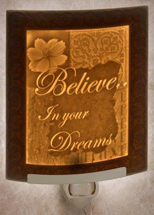 Believe CURVED Porcelain Lithophane (Believe Porcelain)