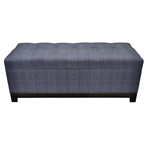 Price comparison product image Three Hands Storage Bench Home Décor Accent, Gray