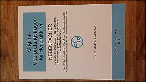 Original-Überprüfungsfragen für Heilpraktiker, Nebenfächer