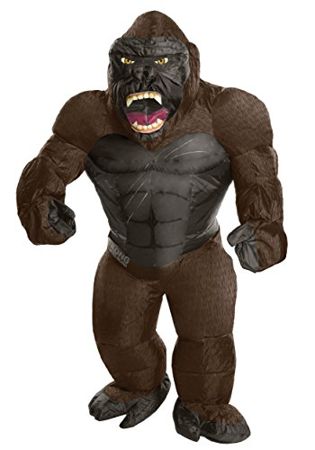 Awesome Halloween Costumes For 11 Year Olds (Rubie's Costume Co. Men's Skull Island Inflatable King Kong Costume, As Shown, One)