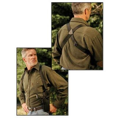 Uncle Mike's Black Kodra Nylon Sidekick Vertical Shoulder Holster