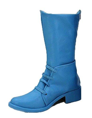 Bromeo JOJO'S BIZARRE ADVENTURE 2 Caesar Cosplay Schuhe Stiefel Stiefeletten