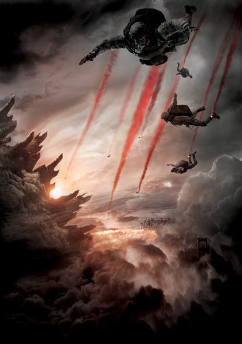 Godzilla (2014) 12X18 Movies Poster (THICK) - Aaron Taylor-Johnson, Elizabeth Olsen, Bryan - Mall Cranston