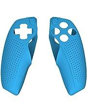 xllLU Silikonskal tillbehör kompatibel med PS5 Dualsense-kontroll kompatibel med officiell laddningsstation kontroll silikonskal