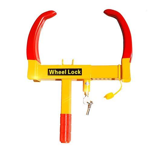 Remolque de bloqueo de la rueda de arranque-rueda de bloqueo de seguridad del neumático abrazadera-ciruela cerradura del...