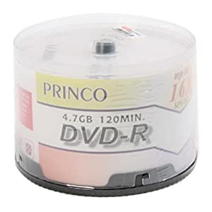 Tarrina DVD-R 4.7GB 16x Princo 50unds