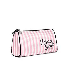 VICTORIA S SECRET Makeup Bag Pink & White Stripes
