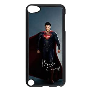 Man of Steel ipod 5 Case Customized Hard Plastic Cover Case fits iPod Touch 5th ipod5-linda993