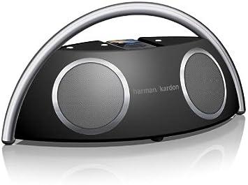 Amazon.com: Harman Kardon Go + play sistema de altavoz portátil de alto rendimiento con base para iPod: Electronics