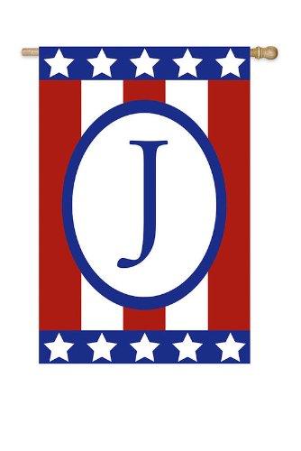 Patriotic Monogram Flag – J (Garden Size) Review