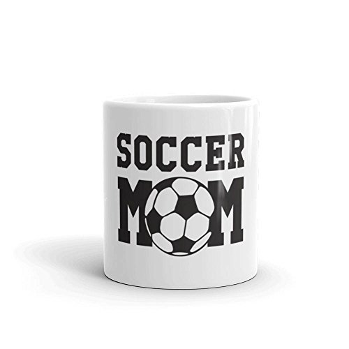 Soccer Mom Mug | Soccer Ball Coffee Drink Mug | Mother's Day Gift