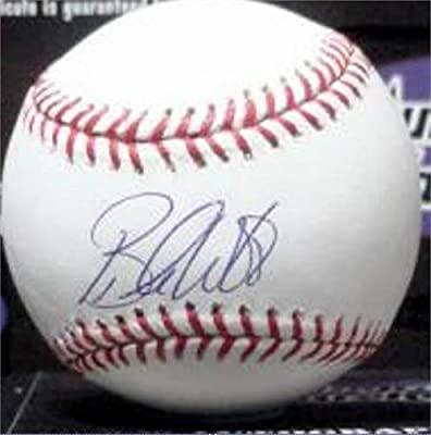 Brandon Webb Signed Baseball - OMLB Cy Young Award Winner University Kentucky Wildcats) - Autographed Baseballs