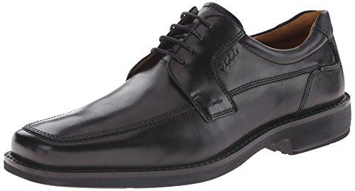 Ecco Men's Seattle Apron Toe Oxford,Black,46 EU (US Men's 12-12.5 M)