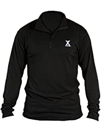 Xone Adult Compression-Fit Cold Weather 1/4 Zip Shirt