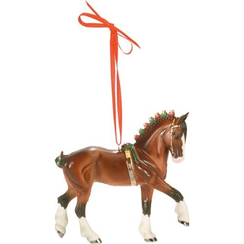 Breyer Clydesdale Beautiful Breeds Ornament - 6th in Series for 2008 (Breeds Series Beautiful)
