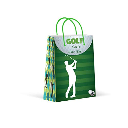 Premium Golf Party Bags, Sports Party Favor Bags,