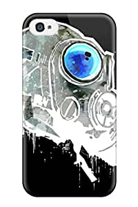 Snap On Hard Case Cover Jesus Sci Fi Protector For Iphone 4/4s