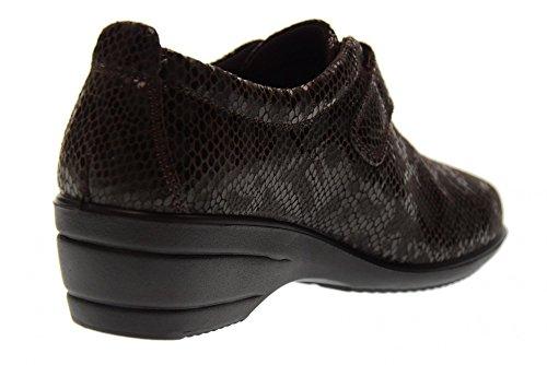 a de zapatos 89852 cu sin las mujeres de 00 de cordones SOFT ENVAL Brown deporte zapatillas OwxzII